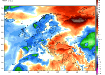 Anomalie termiche NOAA