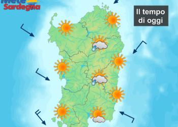 Le previsioni meteo per oggi.