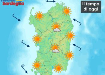 La previsione meteo per la giornata di sabato 27 giugno.
