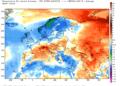 Le anomalie termiche su scala continentale da inizio giugno ad oggi.
