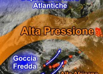 Fonte immagine EumetSat 2015, rielaborazione grafica a cura della Redazione del Meteo Sardegna.