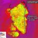 umidità 75x75 - Bolla rovente sahariana a ridosso della Sardegna