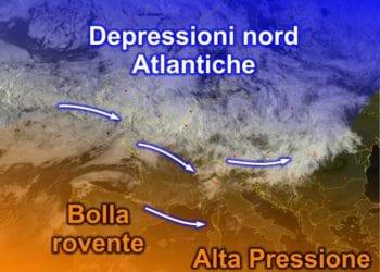 Fonte immagine EumeSat 2015, rielaborazione grafica a cura della Redazione del Meteo Sardegna.