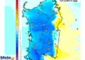 Le variazioni termiche delle ore 14 di giovedì 09 Luglio, rispetto alla stessa ora di oggi.