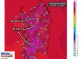 Le temperature massime di martedì 21 luglio 2015.