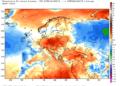Le anomalie termiche nella prime tre settimane di Agosto.