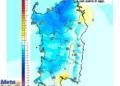 Le variazioni di temperatura delle ore 14 di Lunedì 10 Agosto, rispetto alla stessa ora di oggi.