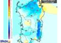 Le differenze di temperatura delle ore 14 di martedì 25 agosto, rispetto alla stessa ora di oggi.