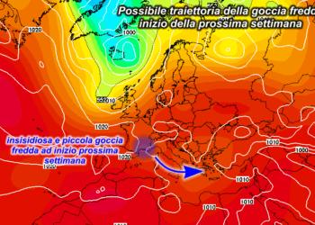 z500 48 350x250 - Confermato il calo delle temperature ma quanti fenomeni?
