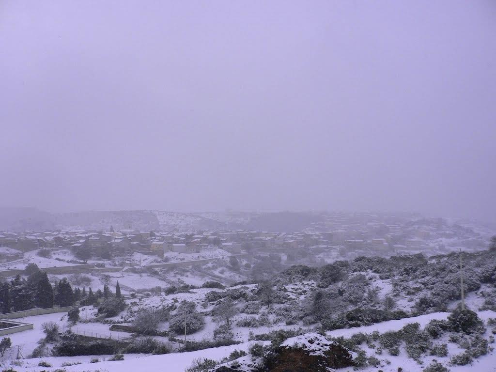66268142 - La Sardegna sotto la neve, ricordi fotografici