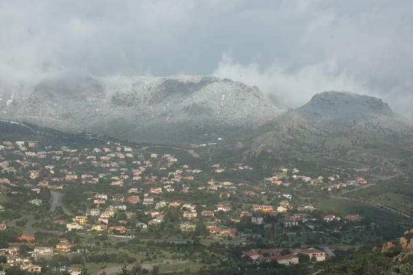 958496913 - La Sardegna sotto la neve, ricordi fotografici