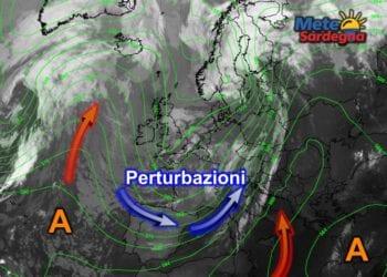 Fonte immagine EumetSat 2015, rielaborazione grafica a cura della Redazione di Meteo Sardegna.