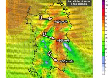 Vento3 350x250 - Forti raffiche di vento in serata