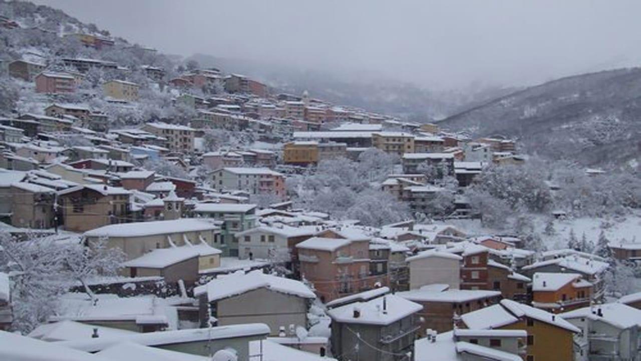 desulo neve  - La Sardegna sotto la neve, ricordi fotografici
