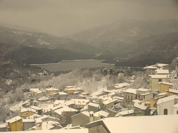 lagoegavoineve2013ridotta - La Sardegna sotto la neve, ricordi fotografici