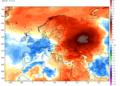 Le anomalie termiche registrate in Europa nelle ultime due settimane.
