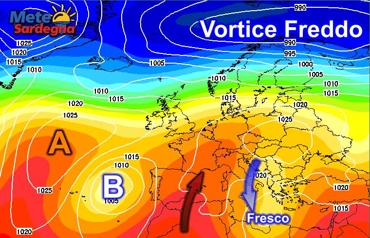 Fine ottobre tra freddo a est e mite a ovest.