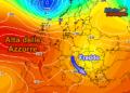 Vortice freddo a est e grosso Anticiclone a ovest. L'Italia si troverà nel mezzo.