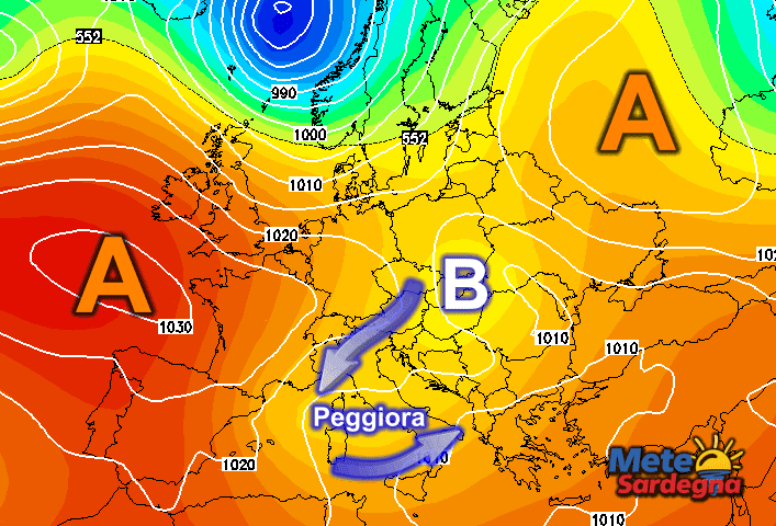 Prossima settimana: importanti novità sulle sorti del Vortice Freddo.