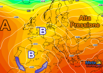 Siamo a metà Ottobre: una nuova, ampia zona di Bassa Pressione ad ovest della Sardegna potrebbe causare forte maltempo.