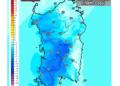 Le differenze di temperatura delle ore 14 del 22 ottobre, rispetto a oggi.
