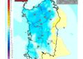 Le variazioni di temperatura delle ore 13 di Giovedì, rispetto alla stessa ora di oggi.