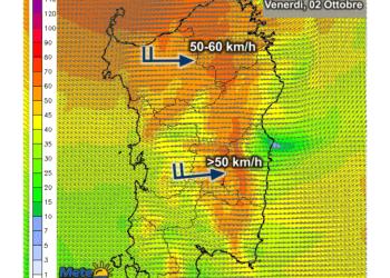 Vento 350x250 - Forti raffiche di vento in serata