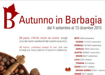Autunno in Barbagia 2015.