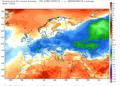 Le anomalie termiche da inizio ottobre ad oggi.