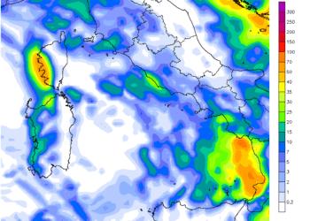 pcp24h 1471 350x250 - Prossima settimana fresca; possibile ritorno delle piogge