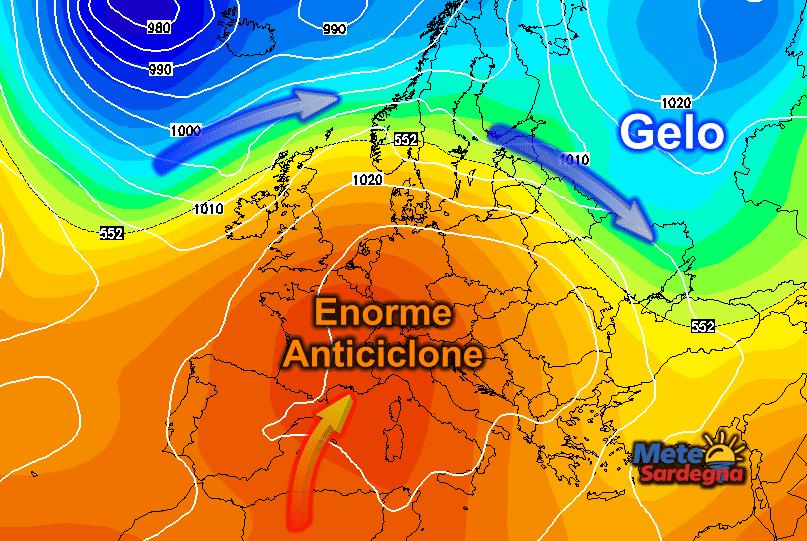 Prospettive Anticicloniche e di caldo anomalo prolungati.