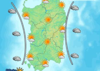 Le condizioni meteo di oggi, mercoledì 11 Novembre.