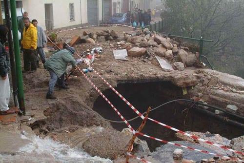 Villagrande 11 - Sardegna, quando le alluvioni colpiscono a dicembre...