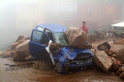 Villagrande 15 - Sardegna, quando le alluvioni colpiscono a dicembre...