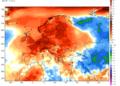 Le anomalie termiche delle prime due settimane di novembre.