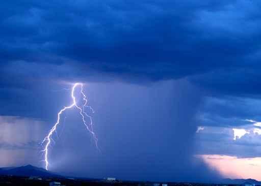 arizona monsoon 2006: approaching storm