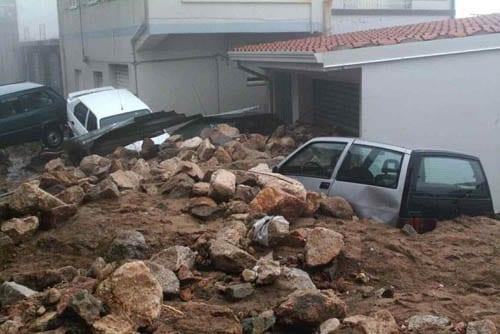 villagrande - Sardegna, quando le alluvioni colpiscono a dicembre...