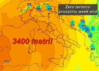 0ch 153 350x250 - All'orizzonte un week end di sole e temperature fino a 25°C