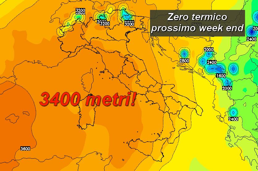 0ch 153 - Nuova fiammata africana: zero termico oltre 3000 metri