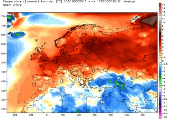 Anomalie termiche2 350x250 - Dalla padella alla brace: caldo a novembre e caldo a dicembre