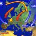 Verso fine anno confermata invasione gelida verso l'Europa orientale.