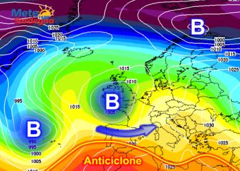 Perturbazione atlantica a inizio della prossima settimana? Probabile.