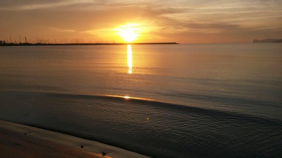 alghero tramonto