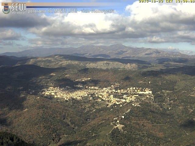 Una bella panoramica sul Gennargentu dal Monte Lusei di Seui. Fonte seuimeteo.it