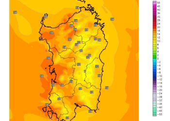 t2m 361 350x250 - All'orizzonte un week end di sole e temperature fino a 25°C