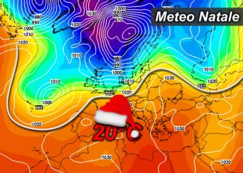 z500 99 350x250 - Sardegna, a Natale temperature fino a 20°C
