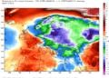 Le anomalie termiche della prima settimana di gennaio. Fonte dati NCEP.