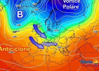 Multimodel relativa al 04 Febbraio: si evince il ritorno delle perturbazioni atlantiche.