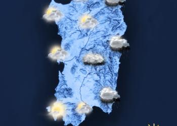 Il meteo di oggi, venerdì 22 gennaio.