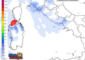 Possibile il ritorno delle piogge tra il 2 e il 3 febbraio.